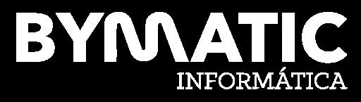 logo blanco - Bymatic Informática y Soporte Técnico en Valencia